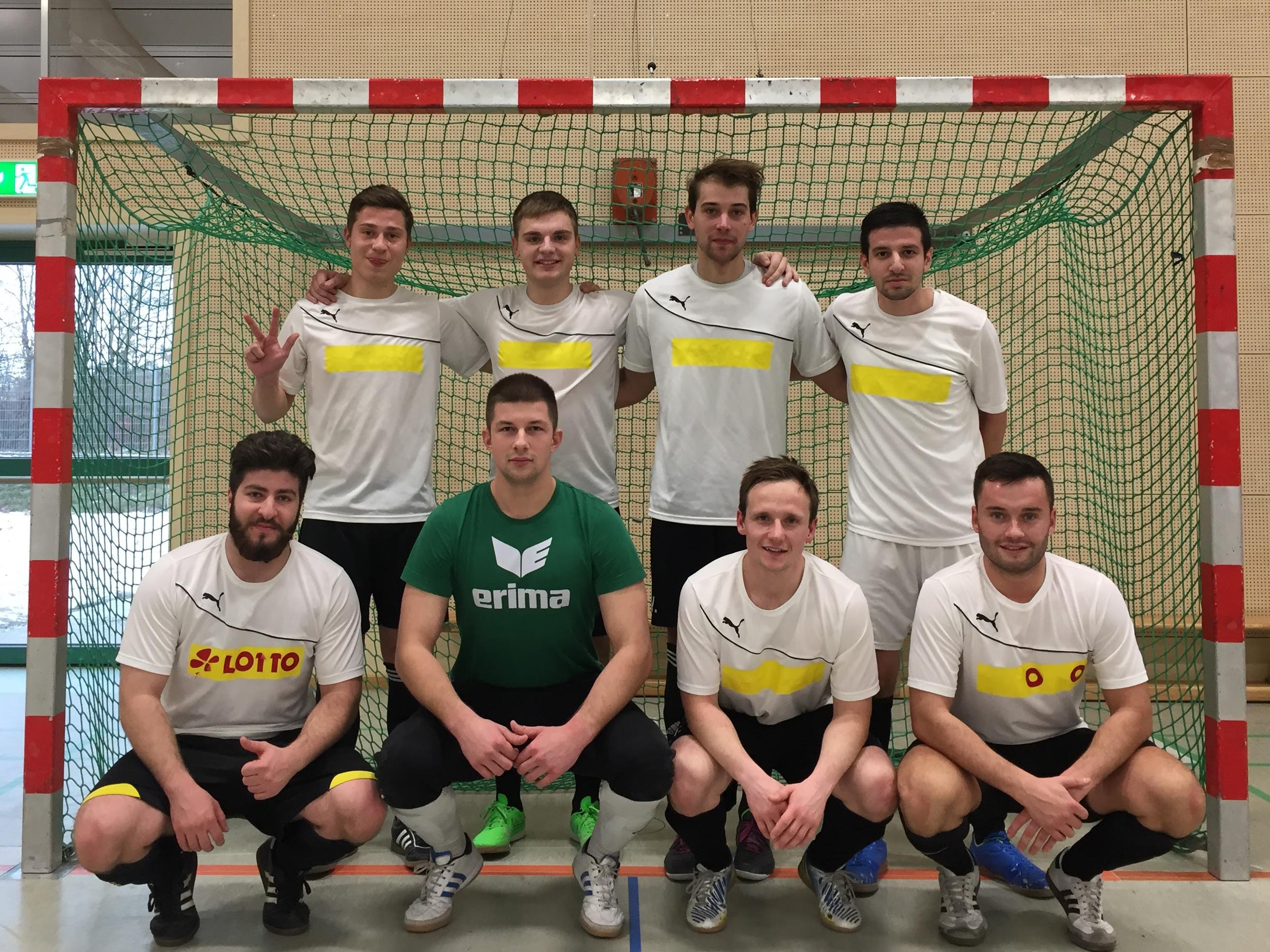 Team Alfeld nach dem letzten Spieltag der Saison 2016/2017