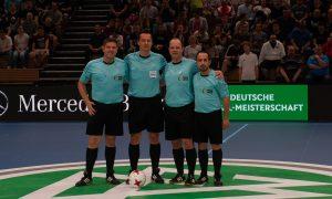 Sehr gute Schiedsrichter-Leistung: A. Link; S. Eichler, M. Schierbaum, O. Amarkhel