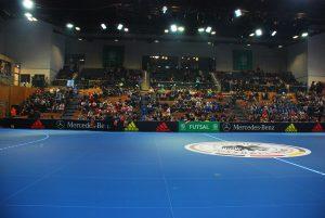Dresden BallsportARENA 2017 Länderspiel